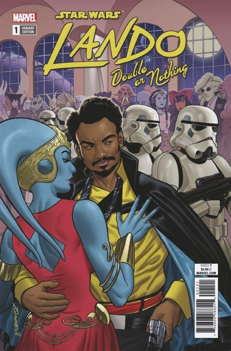 Star Wars Lando Lando Double or Nothing Marvel Graphic Novel Comic Book Lot