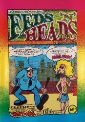 The Print Mint's Feds 'n' Heads Issue # 1-7th print