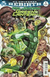 DC Comics's Hal Jordan and the Green Lantern Corps Issue # 6