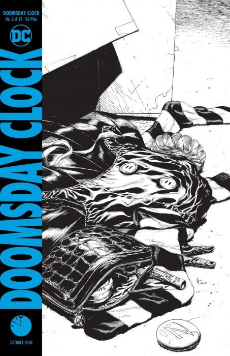 Doomsday Clock Issue 2 3rd Print Dc Comics