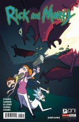 Oni Press's Rick and Morty Issue # 23b