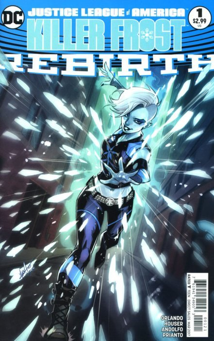 Justice League of America: Killer Frost - Rebirth 1b (DC ...