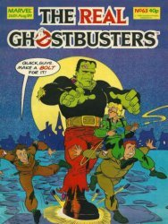 Marvel UK's The Real Ghostbusters Issue # 63