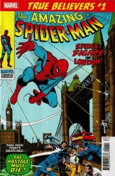 Marvel Comics's True Believers: Spider-Man - Spidey Fights In London Issue # 1