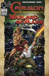 American Mythology's Carson of Venus: Warlord of Mars Issue # 1b