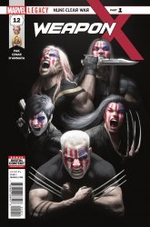 Marvel Comics's Weapon X Issue # 12