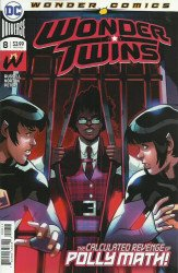 DC Comics's Wonder Twins Issue # 8