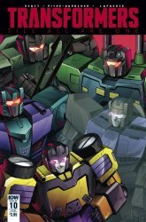 IDW Publishing's Transformers: Till All Are One Issue # 10sub