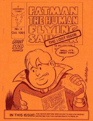 Lightning Comics's Fatman the Human Flying Saucer: Lost Issue Issue # 4
