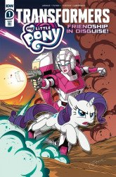 IDW Publishing's My Little Pony / Transformers: Friendship in Disguise Issue # 1b