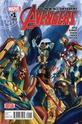 Marvel Comics's All-New All-Different Avengers Issue # 1