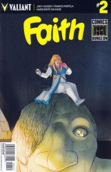 Valiant Entertainment's Faith Issue # 2c.dungeon