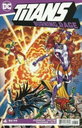 DC Comics's Titans: Burning Rage Issue # 4
