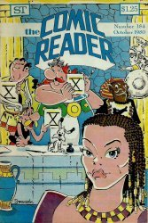 Street Enterprises's The Comic Reader Issue # 184