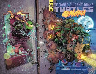 IDW Publishing's Teenage Mutant Ninja Turtles: Jennika Issue # 1bccc