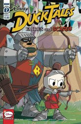 IDW Publishing's Ducktales: Faires and Scares Issue # 2b