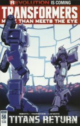IDW Publishing's Transformers: More Than Meets the Eye Issue # 56sub