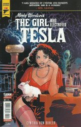 Titan Comics's Hard Case Crime: Minky Woodcock - The Girl Who Electrified Tesla Issue # 1b
