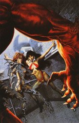 Harris Comics's Vampirella / Witchblade: Union of the Damned Issue # 1d