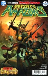 DC Comics's Odyssey of the Amazons Issue # 3