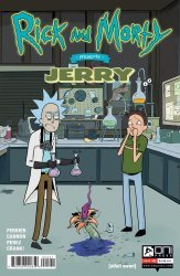 Oni Press's Rick and Morty Presents: Jerry Issue # 1b
