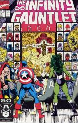 Marvel Comics's The Infinity Gauntlet Issue # 2