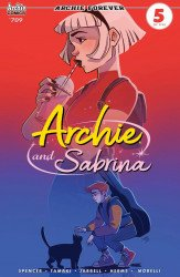 Archie Comics Group's Archie and Sabrina Issue # 709c