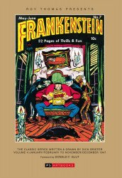 PS Artbooks's Roy Thomas Presents: Briefer Frankenstein Hard Cover # 2