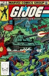 Marvel Comics's G.I. Joe: A Real American Hero Issue # 5 - 2nd print