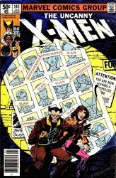Marvel Comics's The X-Men Issue # 141