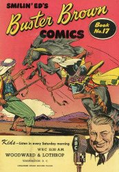 Buster Brown Shoes's Buster Brown Comics Issue # 17woodward