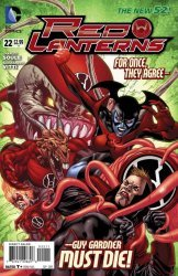 DC Comics's Red Lanterns Issue # 22