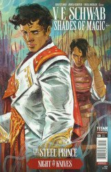 Titan Comics's Shades of Magic: The Steel Prince Issue # 8b