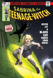 Archie Comics Group's Sabrina the Teenage Witch: Something Wicked Issue # 1stadium