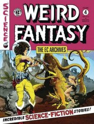Dark Horse Comics's EC Archives: Weird Fantasy Hard Cover # 4