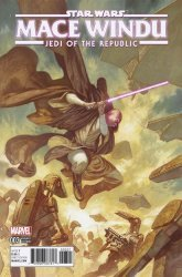 Marvel Comics's Star Wars: Jedi of the Republic - Mace Windu Issue # 3b