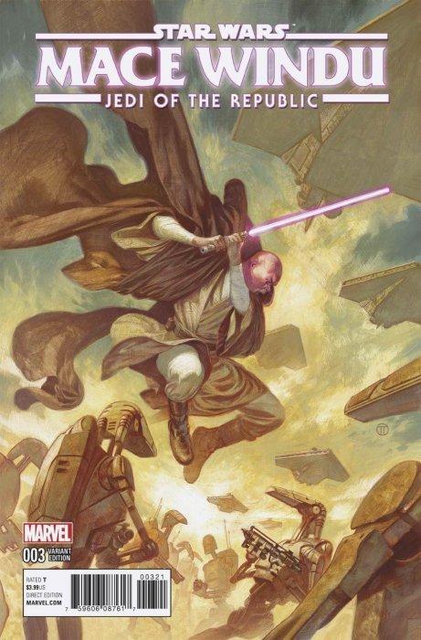 Marvel Comics Star Wars Jedi of the Republic Mace Windu #2 2017 NM+