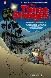 Papercutz's Three Stooges Hard Cover # 2