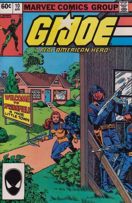 Marvel Comicss GI Joe A Real American Hero Issue 10 2nd Print