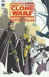IDW Publishing's Star Wars Adventures: Clone Wars - Battle Tales Issue # 3