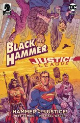 Dark Horse Comics's Black Hammer/Justice League: Hammer of Justice Issue # 1