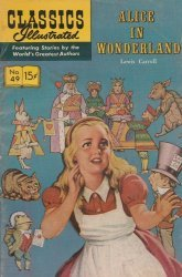 Gilberton Publications's Classics Illustrated #49: Alice in Wonderland Issue # 1h