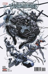 Marvel Comics's Venomverse Issue # 1 - 2nd print