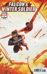 Marvel Comics's Falcon & Winter Soldier Issue # 1c