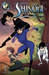 Action Lab Entertainment's Shinobi: Ninja Princess Issue # 1