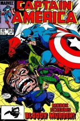 Marvel Comics's Captain America Issue # 313