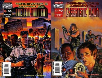 Malibu Comics's Terminator 2: Nuclear Twilight / Cybernetic Dawn Issue # 0