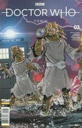 Titan Comics's Doctor Who Comic Issue # 3c
