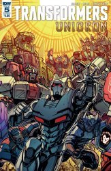 IDW Publishing's Transformers: Unicron Issue # 5b