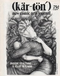 Manclock Publishing's Kar-Ton, New Comic Arts Journal Issue # 1